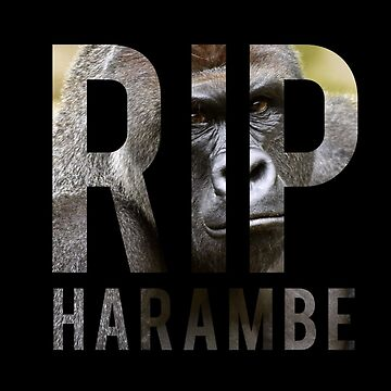 RIP HARAMBA TRIBUTE by SuperDuperSloth