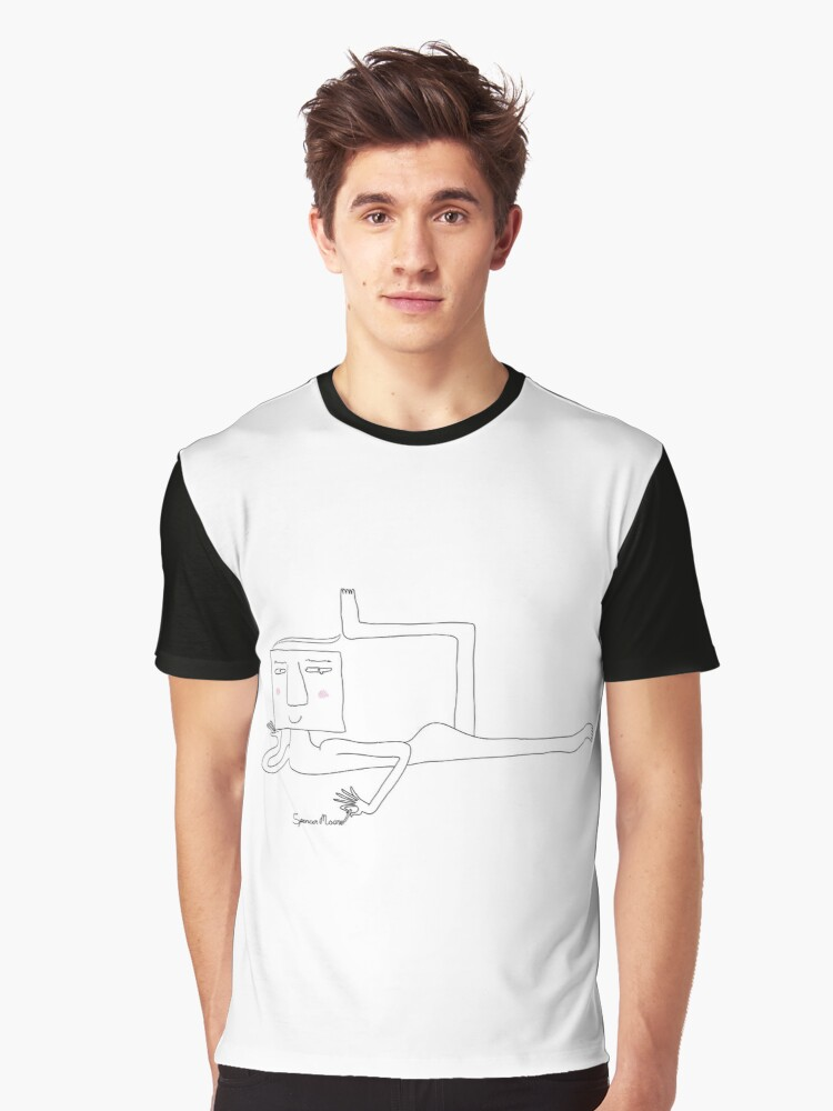 Square Spencer Graphic T-Shirt Front