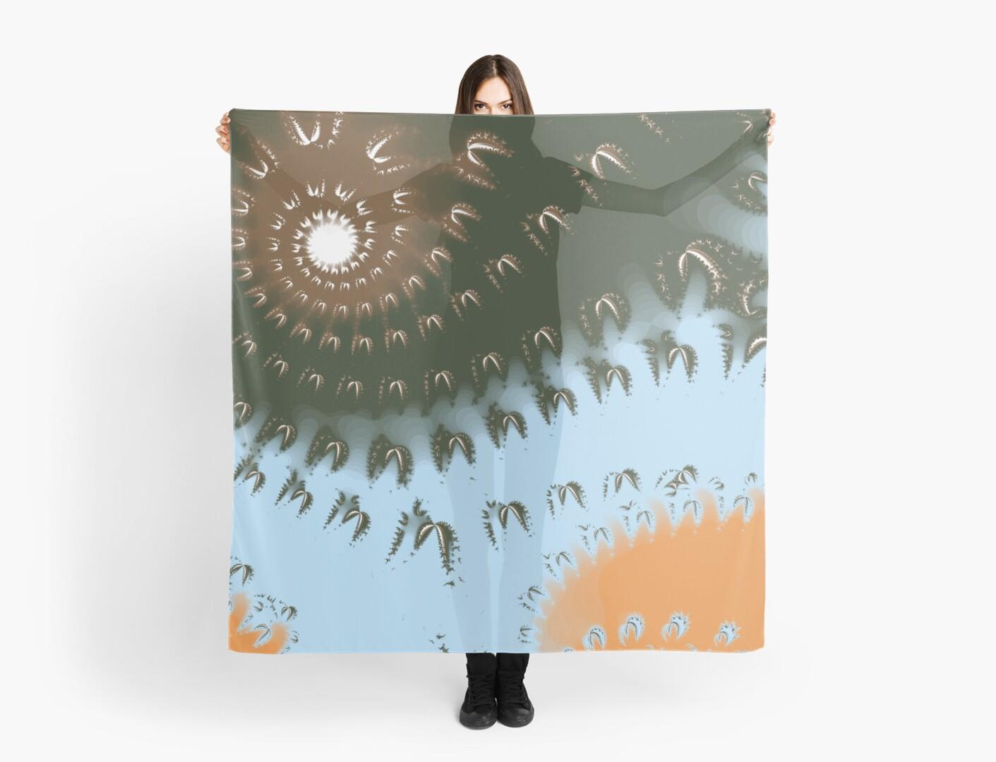 Sun Ray Swirl Design by Jessielee72