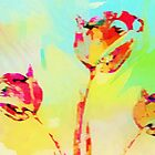 Tulips Impression by Darlene Lankford