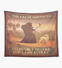 BioShock Infinite – The False Shepherd Seeks Only To Lead Our Lamb Astray Poster Wall Tapestry