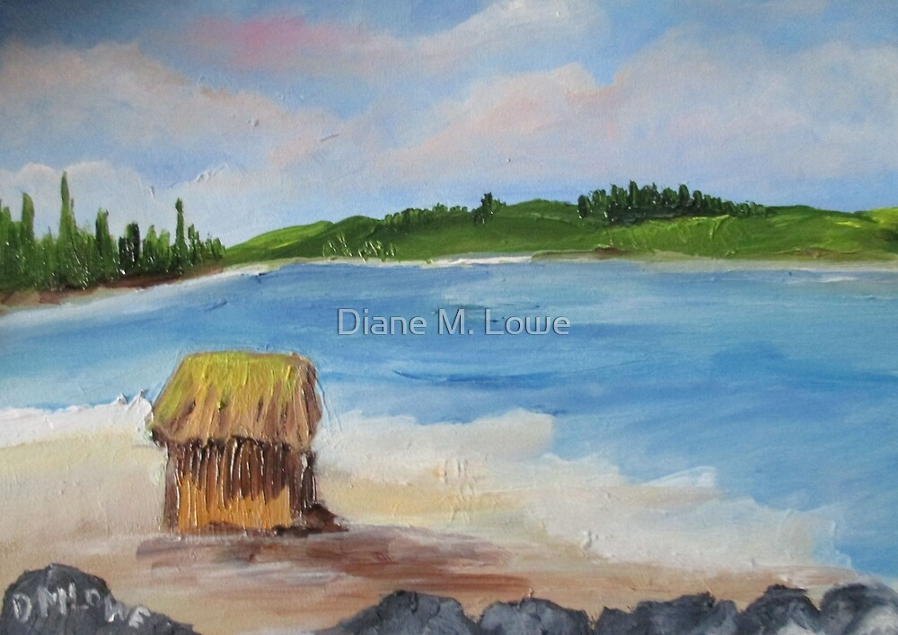Beachcomber by Diane M. Lowe