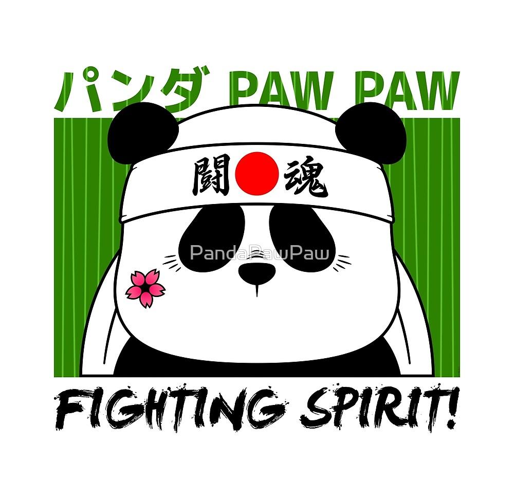 Panda (Fighting Spirit) by PandaPawPaw