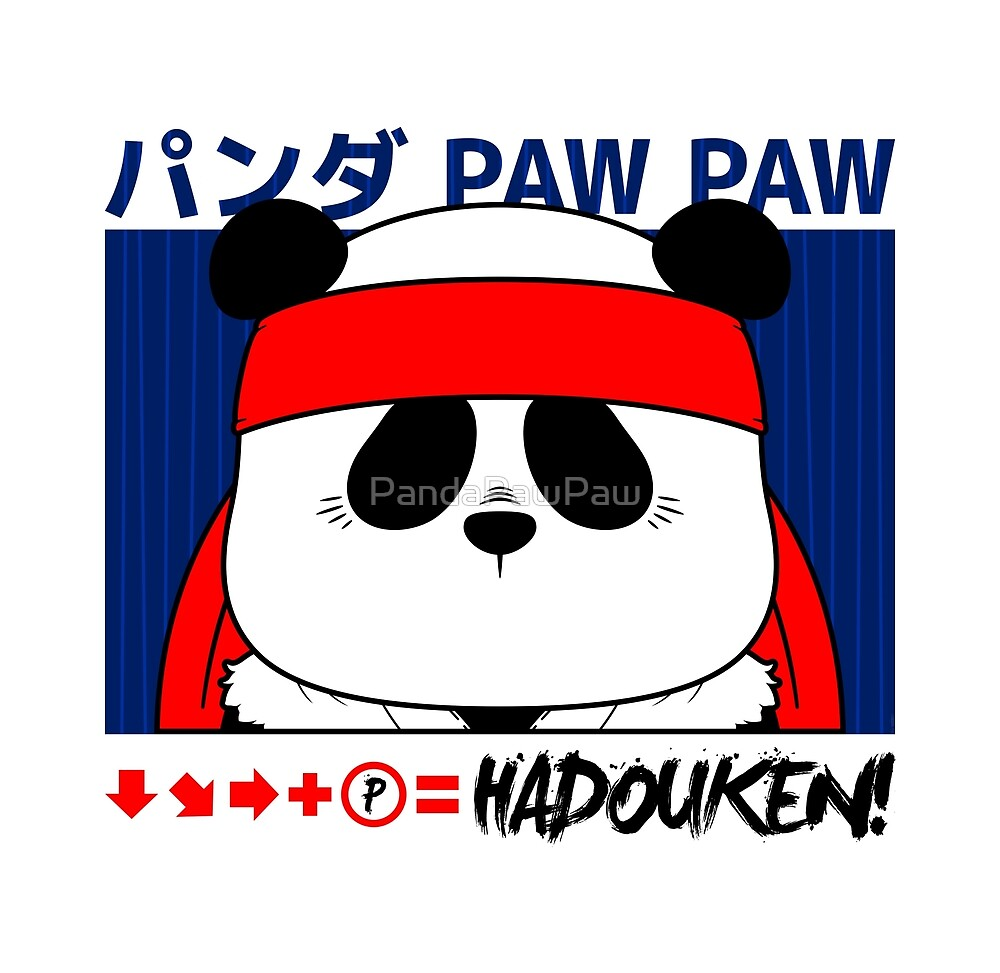 Panda (Hadouken) by PandaPawPaw
