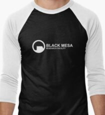Black Mesa Research Facility Men's Baseball ¾ T-Shirt