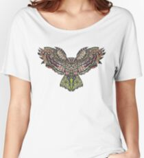 Colorfull gorgeos eagle owl Women's Relaxed Fit T-Shirt
