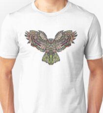 Colorfull gorgeos eagle owl T-Shirt