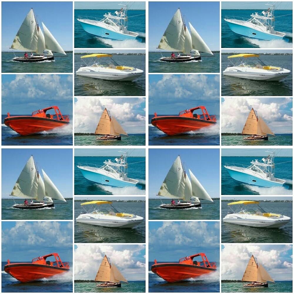 Boats by Nicki harvey