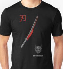 MENS HATTORI HANZO KILL BILL SAMURAI SWORDS Unisex T-Shirt
