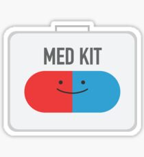 Happy MedKit Sticker