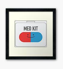 Happy MedKit Framed Print
