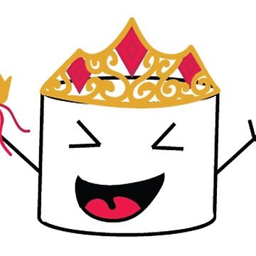 Marshmallow Friend Dresses Up as a Princess by jordanva9412