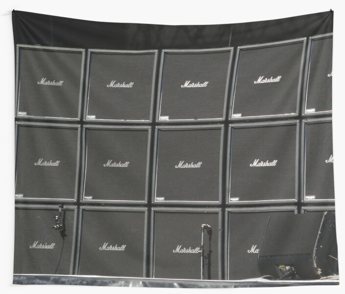Wall of amplifiers amps by GentryRacing