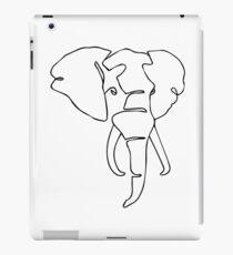 Wire Elephant iPad Case/Skin