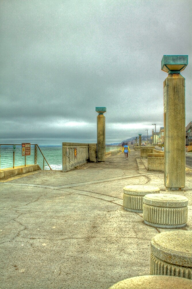Pacifica Municipal Fishing Pier by ScHPhotography Digital Paintings and Design