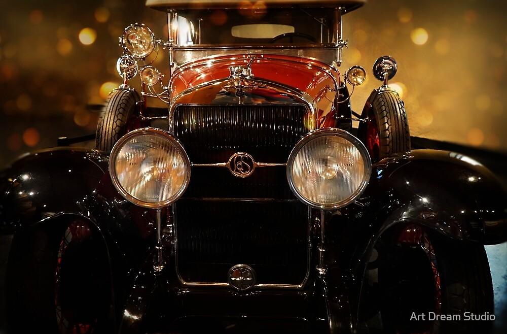 Antique car - 1912 Oldsmobile Autocrat Roaster by Art Dream Studio