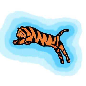 Flying Tiger by EdenMckster