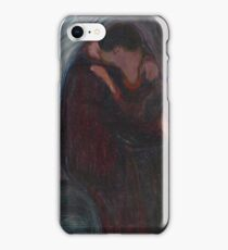Edvard Munch - The Kiss iPhone Case/Skin