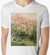 Claude Monet - Lilac In The Sun 1873  T-Shirt
