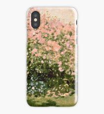 Claude Monet - Lilac In The Sun 1873  iPhone Case/Skin