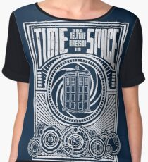Time and Space Women's Chiffon Top