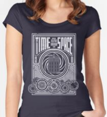 Time and Space Women's Fitted Scoop T-Shirt