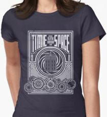 Time and Space Women's Fitted T-Shirt