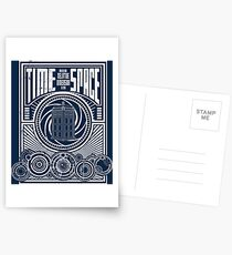 Time and Space Postcards