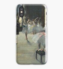 Edgar Degas - The Dance Class iPhone Case/Skin