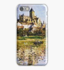 Claude Monet - Vetheuil The Church iPhone Case/Skin