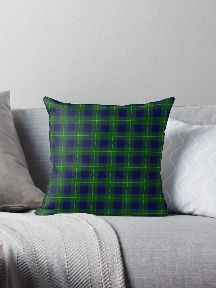 Oliphant Clan Scottish Tartan Plaid Pattern by Whimsydesigns
