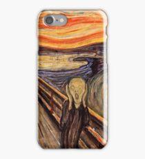 Edvard Munch - The Scream 1893  iPhone Case/Skin
