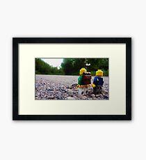 Small Walk Framed Print