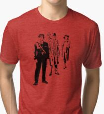 Round Up The Usual Suspects Tri-blend T-Shirt