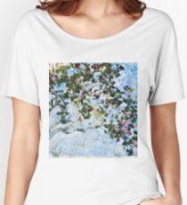 Claude Monet - Roses 1825  Women's Relaxed Fit T-Shirt