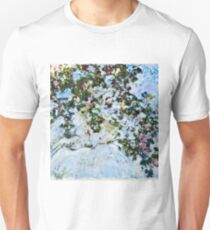 Claude Monet - Roses 1825  T-Shirt