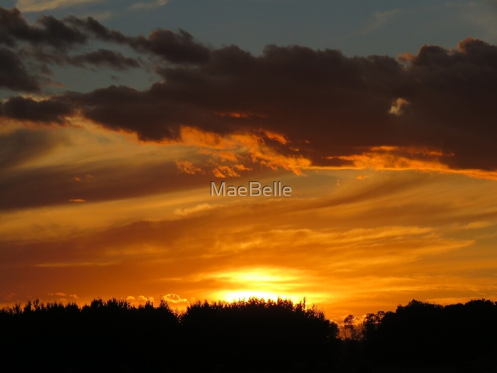 Amazing Sky, tonight, Sept 10 2016 by MaeBelle