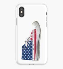 Hi Top Basketball Shoe United States iPhone Case/Skin