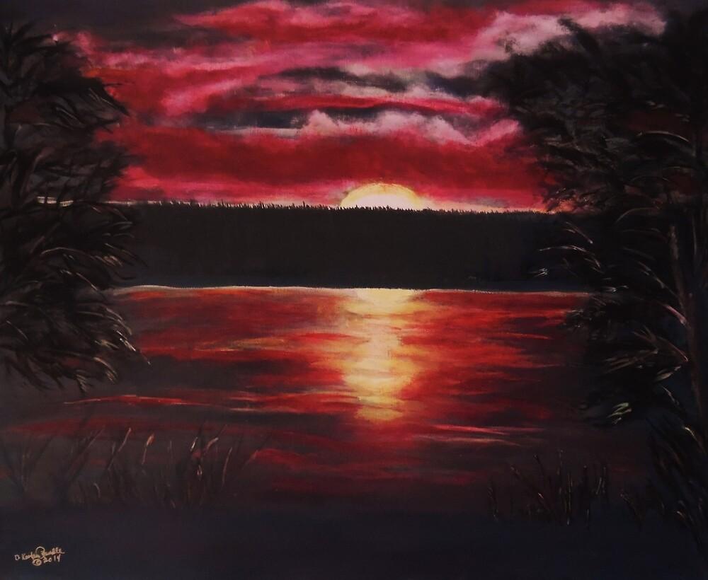 Minnesota Sunset by Dawn Randle