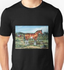 CLYDESDALE.......(on craft foam) T-Shirt
