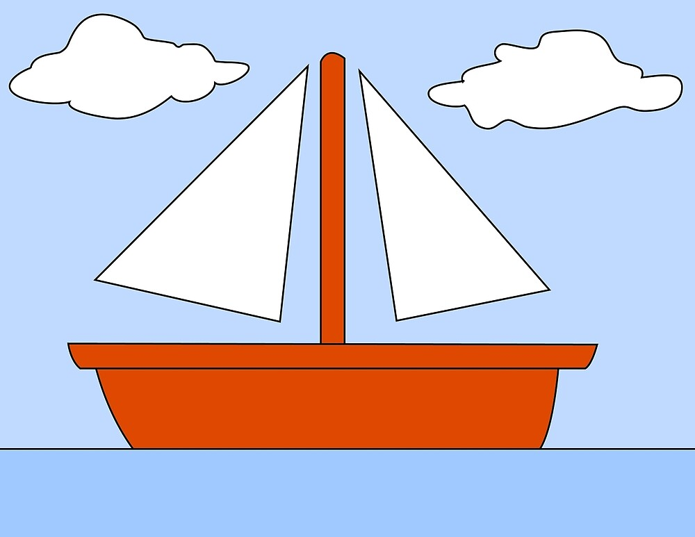 Sailboat - The Simpsons by cvx-official