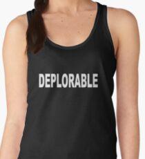 DEPLORABLE Donald Trump Voter Women's Tank Top