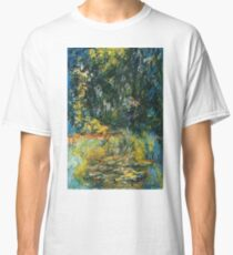 Claude Monet - Water Lily Pond 2 Classic T-Shirt