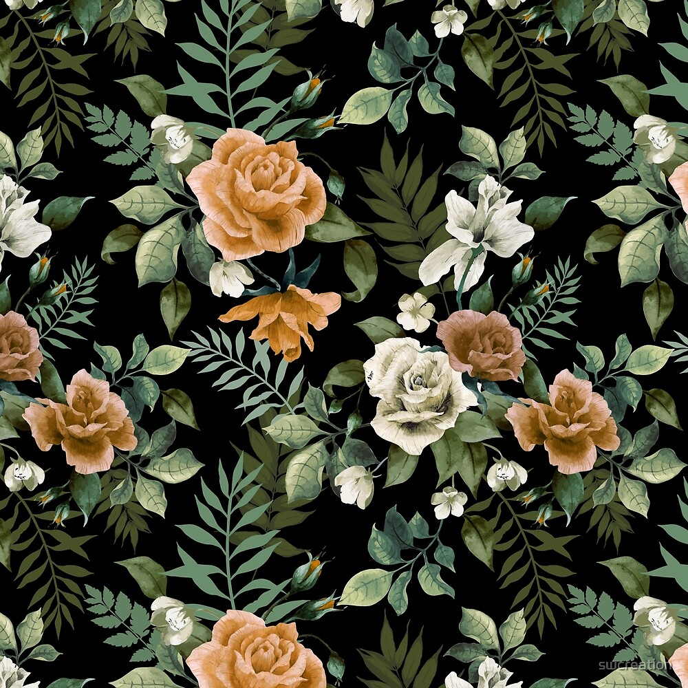 Floral pattern 3 by swcreation