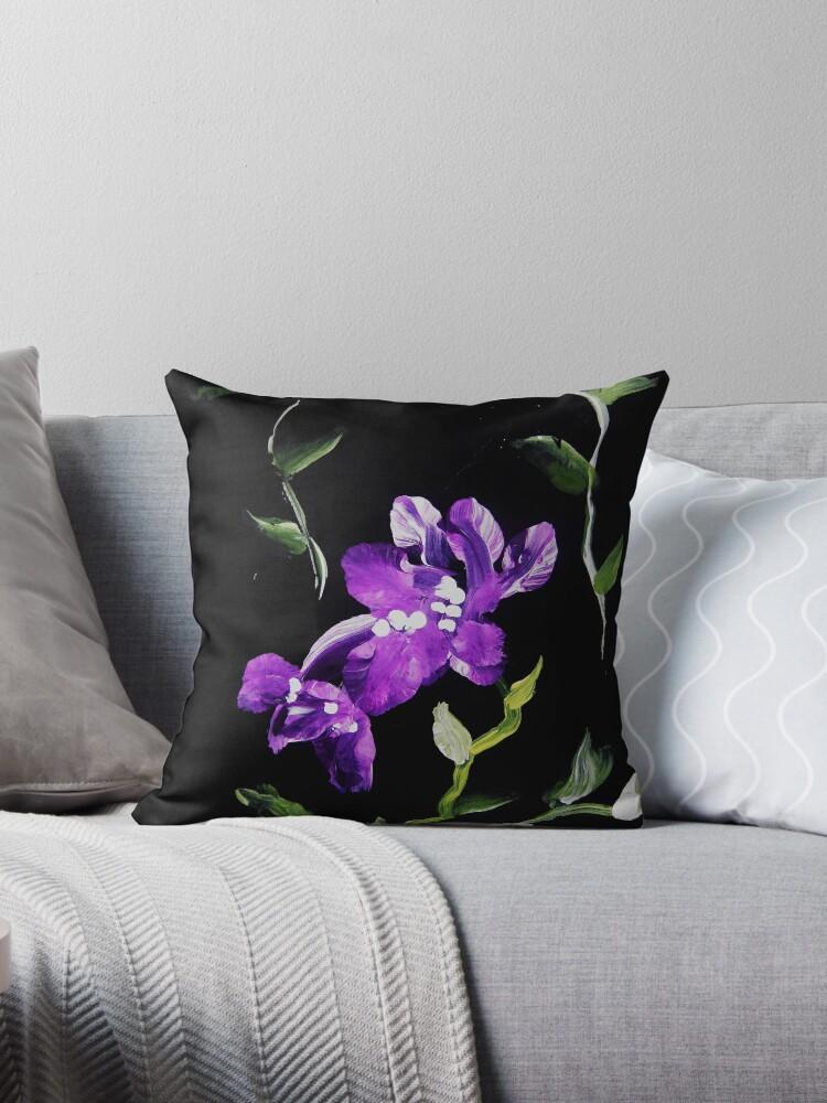 Purple Flowers by Dawn Randle