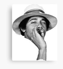 obama kush Canvas Print
