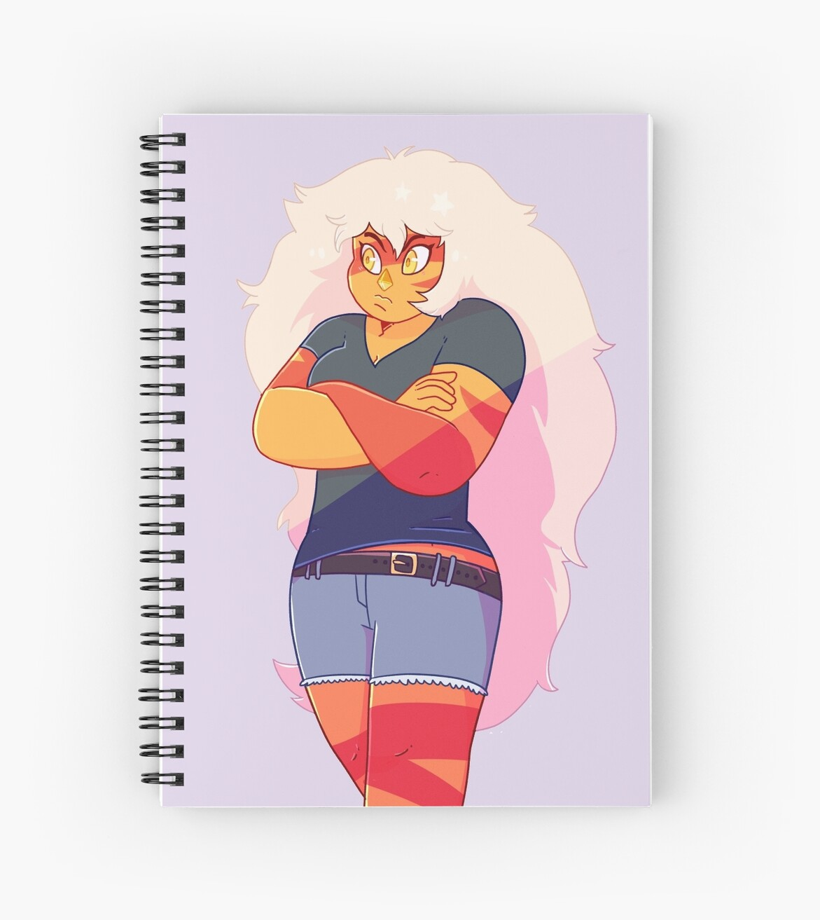 Jasper Notebook/Sticker by SmudgeBubble