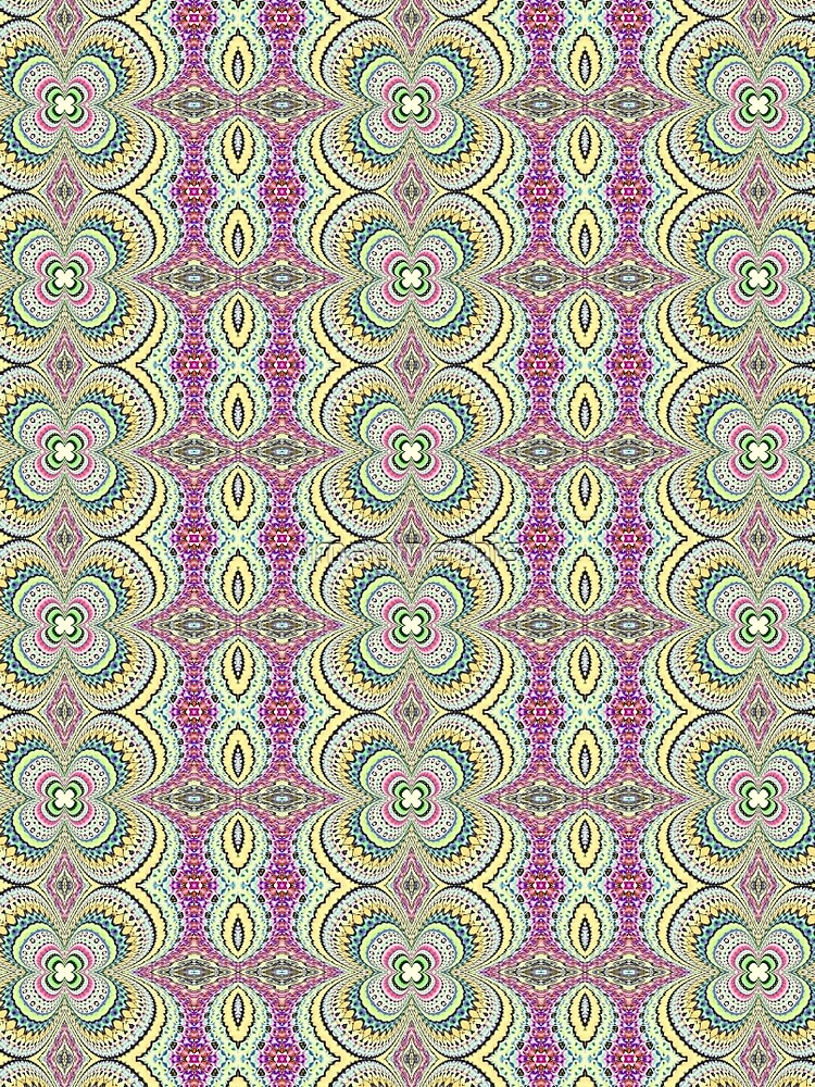 Four Leaf Clover Design - Abstract by imaginethis