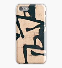 Egon Schiele - Composition with Three Male Nudes (1910)  iPhone Case/Skin