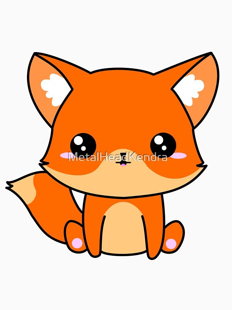 Cute Fox by MetalHeadKendra